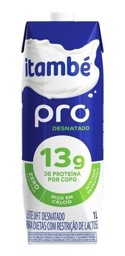 LEITE ITAMBE DESNATADO PRO 1L