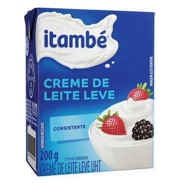 CREME DE LEITE ITAMBE 200G