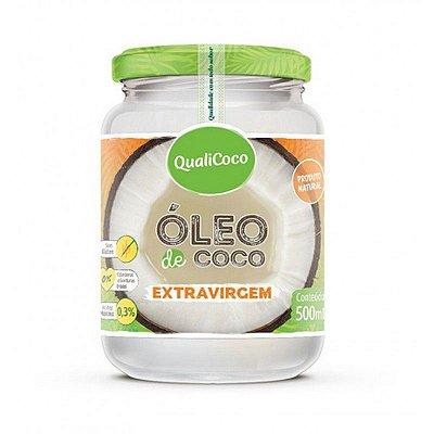 OLEO DE COCO EXTRAVIRGEM QUALICOCO 500ML