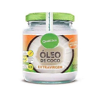 OLEO DE COCO EXTRAVIRGEM ORGA QUALICOCO 200ML