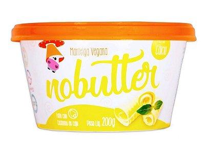 NOBUTTER MANTEIGA VEGANA 200G NOMOO