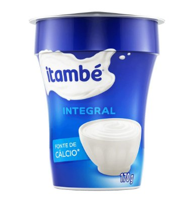 IOGURTE NATURAL INTEGRAL COPO ITAMBE 170G