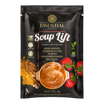 SOUP LIFT ESSENTIAL NUTRITION TOMATE E CURCUMA 35G