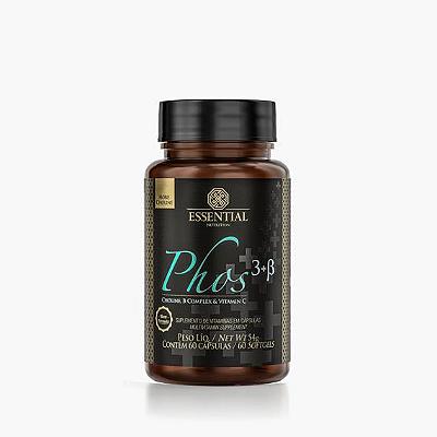 PHOS 3 B ESSENTIAL NUTRITION COM 60 CAPS