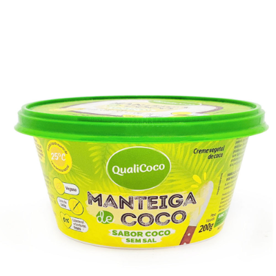 MANTEIGA QUALICOCO SEM SAL 200G