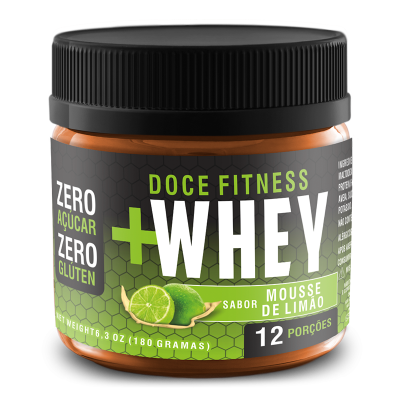 DOCE FITNESS WHEY MOUSSE LIMAO TOKEST 180G
