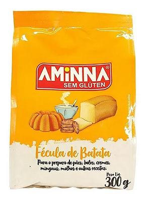 FECULA AMINNA DE BATATA SEM GLUTEN 400G