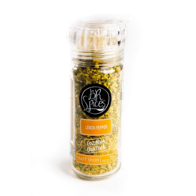 LEMON PEPPER BR SPICES COM MOEDOR 70G