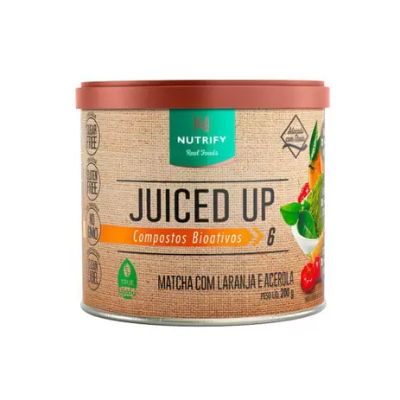JUICED UP MATCHA LARANJA ACEROLA NUTRIFY 200G