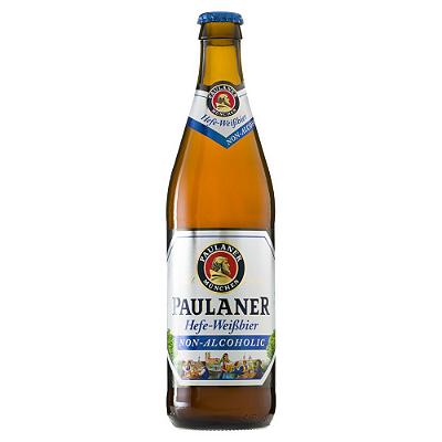 CERVEJA ALEM WEISSBIER 0% ALCOOL PAULANER 500ML