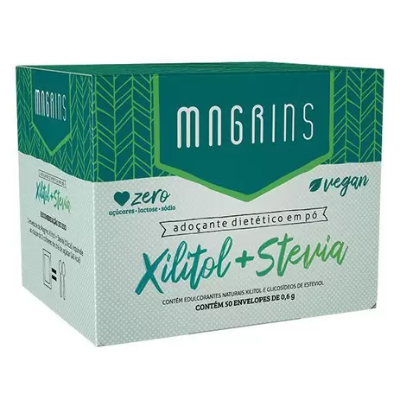 MAGRINS XILITOL STEVIA STEVITA 50 ENVELOPES 0,6