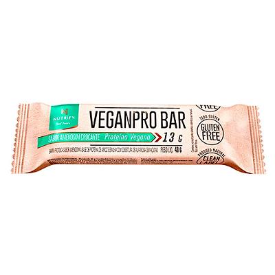 VEGANPRO BAR AMENDOIN CROCANTE NUTRIFY FOODS 40G