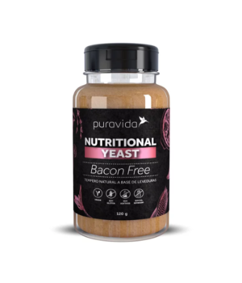 NUTRITIONAL YEAST BACON FREE PURA VIDA 120G