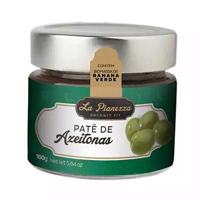 PATE LA PIANEZZA DE AZEITONAS 160G