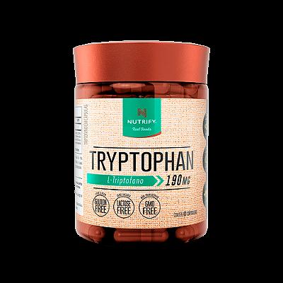 TRYPTOPHAN NUTRIFY FOODS 60 CAPSULAS