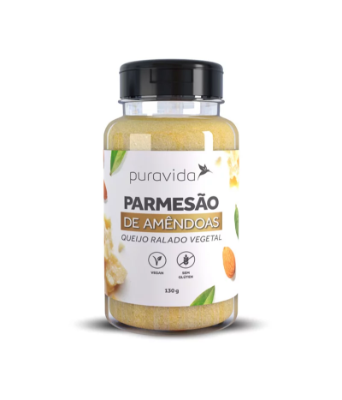 PARMESAO DE AMENDOAS PURA VIDA 130G