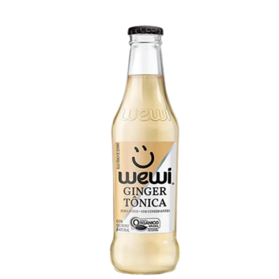 AGUA TONICA GINGER ORGANICA WEWI 255ML