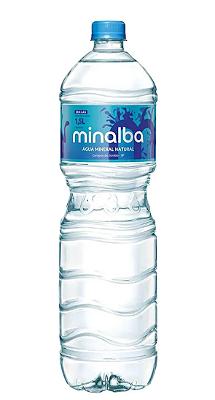 AGUA MINERAL MINALBA SEM GAS GARRAFA PET 1,5L