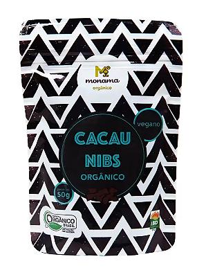 CACAU MONAMA NIBS ORGANICO 50G