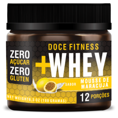 DOCE FITNESS WHEY MOUSSE MARACUJA TOKEST 180G