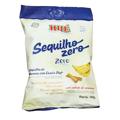 SEQUILHO BANANA E CANELA ZERO HUE 120G