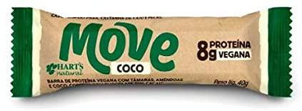 BARRA HARTS PROTEINA COCO MOVE 40G