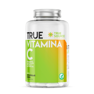VITAMINA C TRUE SOURCE 600MG 100 CAPSULAS