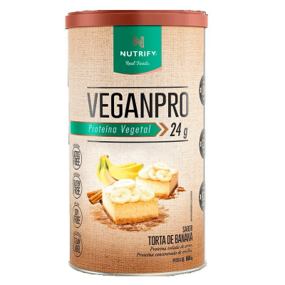 WHEY PROTEIN TORTA DE BANANA NUTRIFY 550G