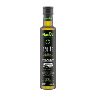 AZEITE NATIVE ORGANICO 250ML