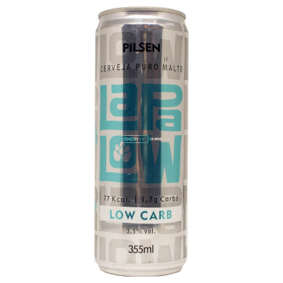 CERVEJA LOW CARB LAPA LOW 355ML