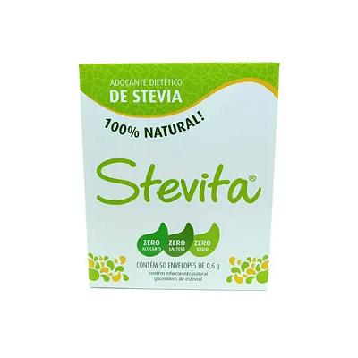 ADO DIE STEVIA 100 NATURAL STEVITA 50 SACHES 0,8G