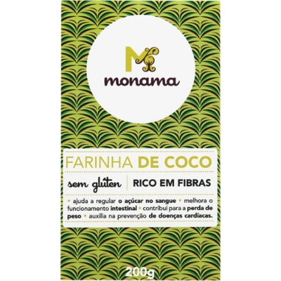 FARINHA MONAMA DE COCO 200G