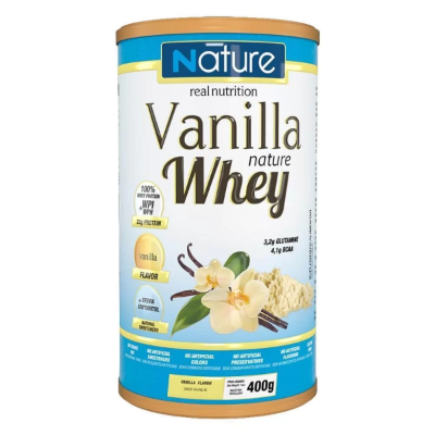 VANILLA WHEY NATURE 400G