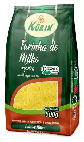 FARINHA KORIN DE MILHO ORGANICA 500G