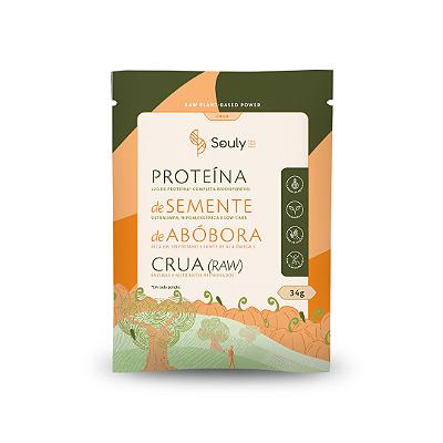PROTEINA DE SEMENTE DE ABOBORA CRUA SOULY 34G