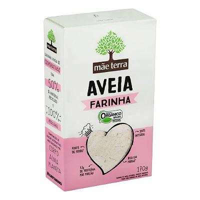 FARINHA AVEIA ORGANICA MAE TERRA 170G