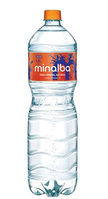 AGUA MINERAL COM GAS MINALBA 1,5L