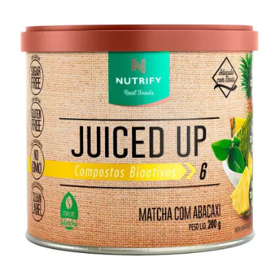 JUICED UP MATCHA ABACAXI NUTRIFY 200G