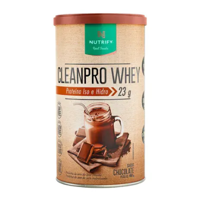 CLEANPRO WHEY CHOCOLATE NUTRIFY 450G