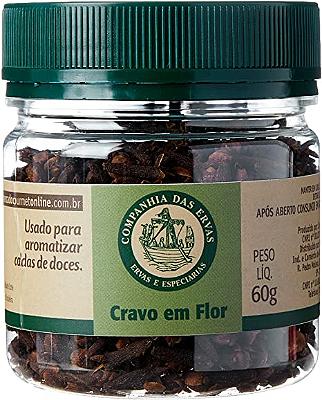 CRAVO EM FLOR COMPANHIA DAS ERVAS 60G