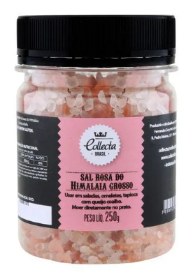 SAL ROSA DO HIMALAIA COLLECTA BRASIL GROSSO 250G