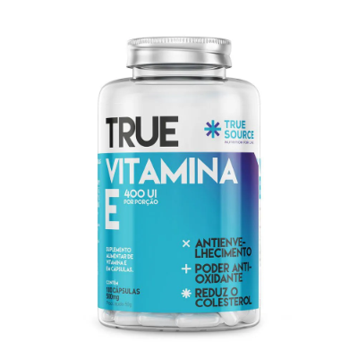 VITAMINA E TRUE SOURCE 500MG 100 CAPSULAS