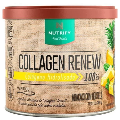 COLLAGEN RENEW ABACAXI HORTELA NUTRIFY 300G
