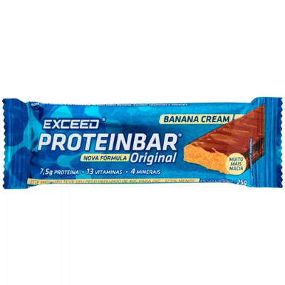 PROTEINBAR EXCEED ORIGINAL BANANA CREAM 25G