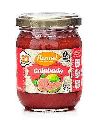 GOIABADA FLORMEL ZERO ADICAO DE ACUCAR 210G