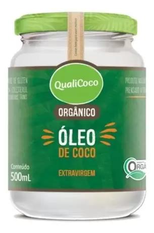 OLEO DE COCO EXTRAVIRGEM ORGA QUALICOCO 500ML