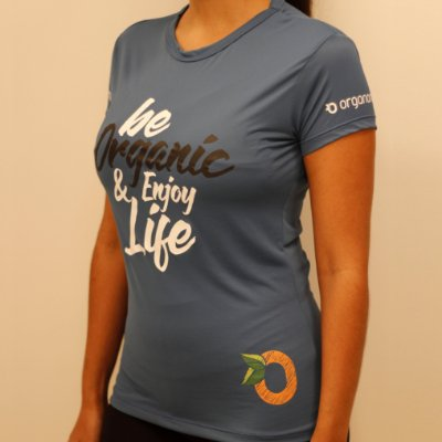 CAMISETA BABY LOOK BE ORGANIC