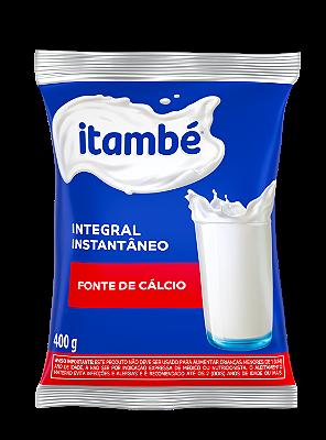 LEITE ITAMBE INTEGRAL EM PO SACO 400G