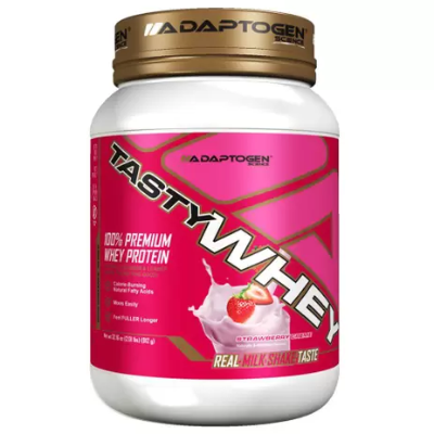 TASTY WHEY STRAWBERRY ADAPTOGEN 912G