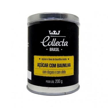 ACUCAR COLLECTA BRASIL COM BAUNILHA 200G